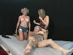 Alix Lovell and Sky Heaven get fucked in a wild foursome