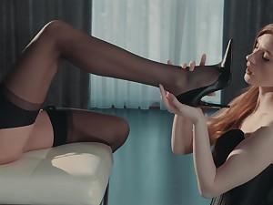Lesbian weird fetish porn