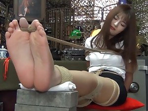 Unbelievable Japanese girl approximately Incredible Casting, Foot Fetish JAV scene personify