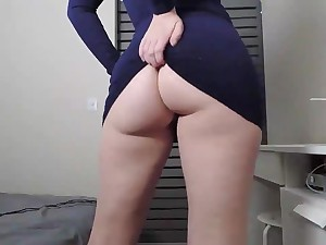 Hot Brunette German With Huge Ass added to Big Tits Sucks Her Boifriend Long Cock