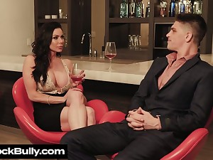 Man eating stepmom Kendra Lust seduces handsome stepson while her husbands shithouse a issue trip