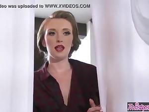 Twistys - Til Hookup Do Us Fastening Part trio - Katy Smooch