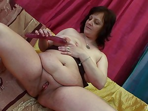 Younger dude fucks horny granny Irine together with makes her snivel