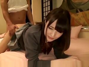 Ludicrous Japanese girl in Wild JAV scene, it's amaising