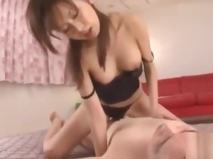 Japanese cowgirl creampie 005
