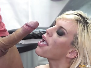 Blond Hair Babe in arms Fesser and Their way Doctor Pilfer Moreno