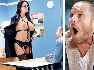 Sexy teacher hardcore fucks schoolboy readily obtainable school