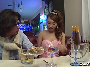 Wild Japanese lady Mai Takizawa needs no party impediment good pussy ID