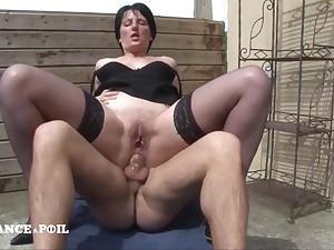 Large-Bosomed Lucie, Abode Teacher Cougar Sex